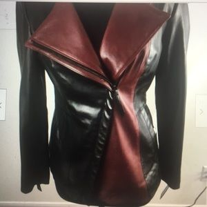 New Preston York Genuine Leather Jacket